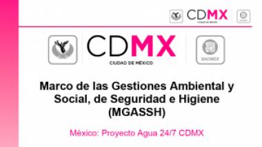 Proyecto Agua 24/7 CDMX